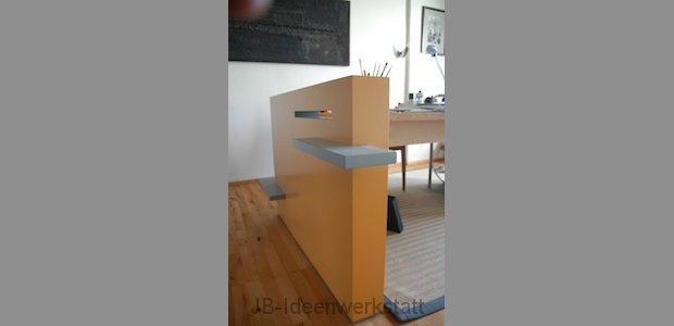 raumteiler jb ideenwerkstatt. Black Bedroom Furniture Sets. Home Design Ideas